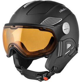 Slokker Raider Free Ski Helmet with Polarizing Visor black
